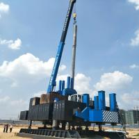 China ISO9001 Diversity Side Pile Driver Machine For Pile Foundation wholesale