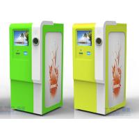 Buy cheap 32 Inch Waterproof Recycle Kiosk Cold Roll Steal Sheet Scan Barcode Kiosk from wholesalers
