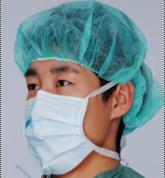 China non woven face mask with round loop wholesale