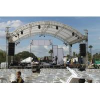 China Professional 6082- T6 Aluminum Square Truss With Curved Tent Series wholesale