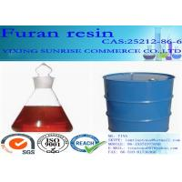 China Furan Resin Foundry Chemicals CAS 2512-86-6 C5H6O2 Red Brown Transparent Liquid wholesale