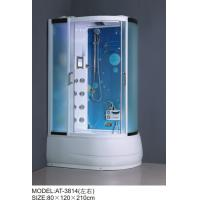 China Safety Complete Shower Cabins Left / Right ABS Complete Shower Room With Tray on sale