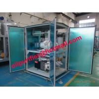 China Double-stage vacuum Transformer oil filtration machine with weather proof canopy,filtering and polishing dielectric oil wholesale