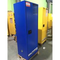 China Vertical Metal Safety Flame Proof Storage Cabinets For Vitriol / Nitric Acid wholesale