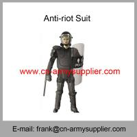 China Wholesale Cheap China Black Full Protection Fire-Resistant Police Anti Riot Suit wholesale