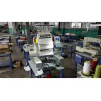 Wholesale 110V - 220V 1 Head Commercial Embroidery Machine , 12 Needle Embroidery Machine 540 x 375mm from china suppliers