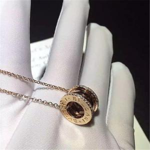 China Wholesale China Gold Jewelry Necklace Factory Bvlgari Bzero1 Necklaces BVLGARI-346082 wholesale