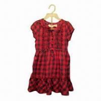 Buy cheap Children's Dress with Comfortable Fabric and Fashionable Design from wholesalers