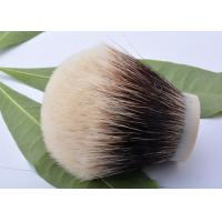 China 30mm white plisson high mountain white badger shaving knots on sale