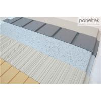 China Clay Exterior Wall Panels With Lined / Grooved / Polished Different Finish wholesale