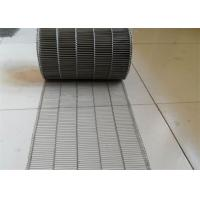 China Customized Flat Wire Mesh Conveyor Belt Running Smoothly And Free Samples wholesale