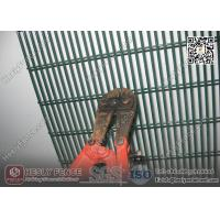 China 358 High Security Anti Cut Mesh Panel  Fening | RAL6005 Green Color | China Fence Factory wholesale