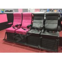 China Superduty Motion 4D Cinema Seats 4D Movie Theater Chair  With Electric / Puenmatic System wholesale