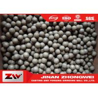 China Mining use high hardness hot rolling grinding steel balls / ball mill media wholesale