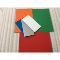 China Easy To Maintain Waterproof Aluminium Composite Sheet With 70 Colors Optional wholesale