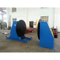 Head and Tail Fixed Welding Positioner Use Round Workingtable Revolving Speed