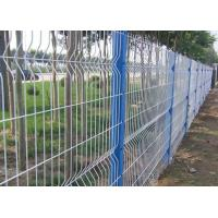 China Anti Climb Garden Mesh Fencing Green Wire Panel For Public Grounds wholesale