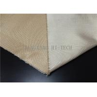 Wholesale Plain / Satin Weaving Fireproof Fiberglass Fabric Heat Resistant Corrosion Resistant from china suppliers