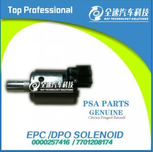 Buy cheap AL4/DP0 DPO Gearbox Brand New EPC solenoid 0000257416/ 7701208174 from wholesalers