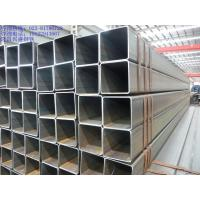 China Non Alloy Welded Galvanised Hollow Square Steel Tube Section Black 10mm Thickness on sale