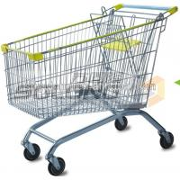Buy cheap Commercial Supermarket Grocery Shopping Cart 180 Litres Volume With EVA + PP from wholesalers