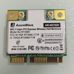 China RT3090 AW-NE762H 802.11bgn,IEEE802.11b/g/n Mini-PCIe Half Size Wireless Lan Card on sale