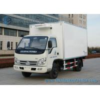 China Right Hand Drive Small 4 ton refrigerated truck FOTON - FORLAND 4x2 wholesale