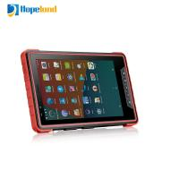 China NFC Tablet RFID Reader Tablet 8.0 Inch Screen Android Based 1D/2D Bar Code Scanner on sale