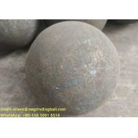 China B2 B3 B6 60Mn Forged steel grinding media balls for mining ball mill wholesale