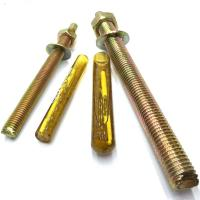 China Electroplated Chemical Concrete Anchor Bolts M24 For Highway Fencing wholesale