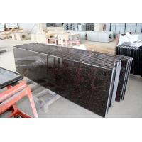China Wholesale India  Granite Stone Tan Brown  English Brown Polished Slabs Countertops Vanity Top Bench Tops on sale