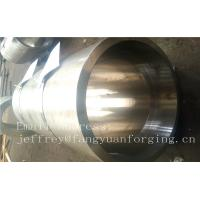 China S S Forged Steel Products / Forged Ring Flange Cylinder With Machining wholesale