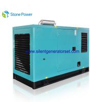 China 40kw 50 Kva Silent Diesel Generator Set With Cummins 4 Cylinder Engine wholesale