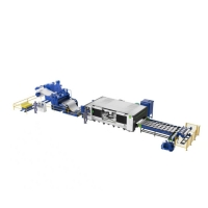 China 4Mpa stainless steel circle laser blanking cutting punching machine line wholesale