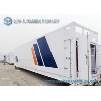 China 64000 L Mobile Refuel Station Container , ISO 40HQ Oil Storage Tank Container wholesale