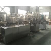 China PLC Control PET Can Industrial Linear Linear Filling Machine 1000-2000 Cans / hour wholesale