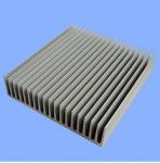 China Silver Mill Finished Aluminum Heatsink Extrusion Profiles  wholesale