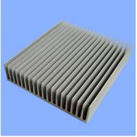 China Silver Mill Finished Aluminum Heatsink Extrusion Profiles  wholesale
