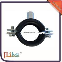 Wholesale Galvanized Carbon Steel Cast Iron Pipe Clamps With EPDM And M8 + 10 Welding Nut from china suppliers