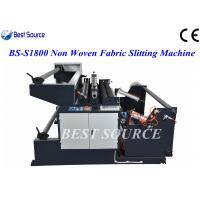 China Automatic High Speed Non Woven Fabric Slitting Machine /Slitting Width upto 1800mm wholesale