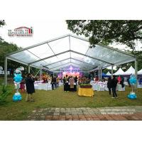 China Small 100 Square Meter A Shape Marquee Canopy Tent For Movable Temporary Party wholesale