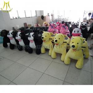 China Hansel motorized plush animals plush motorized zippy rides Shopping Mall Animal Rides wholesale