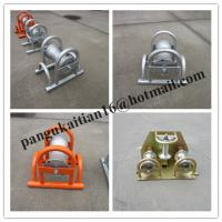 China Aluminum Cable Roller,Nylon Cable Roller,Heavy Duty Triple Corner Cable Roller wholesale