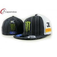 China Winter Youth Racing Baseball Caps Custom Embroidered Fitted Hats wholesale