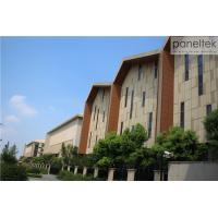China 100 Clay Terracotta Cladding Exterior Wall Facade Materials With Various Colors And Shapes wholesale