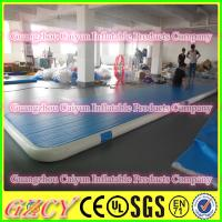 China Drop Stitch Material Inflatable Gymnastic Air Mat wholesale