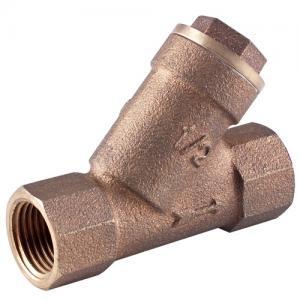 China Brass Strainer Valve Y Type filter water valve wholesale