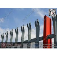 """China """"D"""" section pale Steel Palisade Fencing (Manufacturer/Exporter) wholesale"""