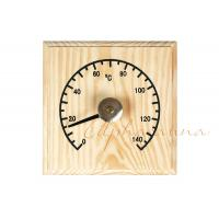 China Solid Wooden Thermometer Hygrometer Temperature for Dry Sauna Room Accessories wholesale