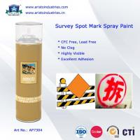 China High Visibility Marking Spray Paint No Clog Survey Spot Aerosol Survey Marking Paint 500ml wholesale
